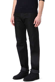 ARMANI J15 slim-fit straight jeans