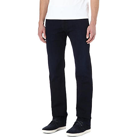 ARMANI J15 slim-fit straight jeans (Blue