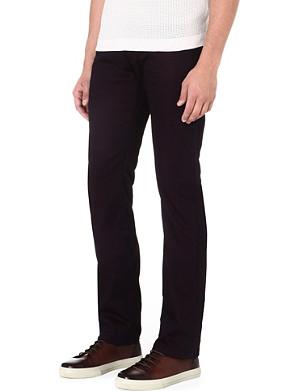 ARMANI COLLEZIONI J08 regular-fit straight jeans