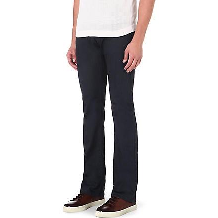 ARMANI COLLEZIONI J08 regular-fit straight jeans (Grey