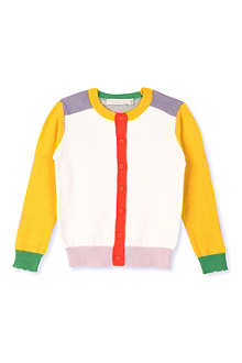 STELLA MCCARTNEY Colour-block cardigan 3-14 years