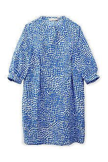STELLA MCCARTNEY Cara spot-print silk dress 6-14 years