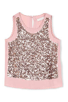 STELLA MCCARTNEY Popsy sequinned top 3-14 years