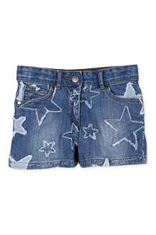 STELLA MCCARTNEY Phoenix Star denim shorts 4-14 years