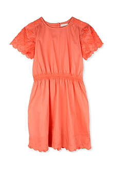 STELLA MCCARTNEY Annabelle embroidered cotton dress