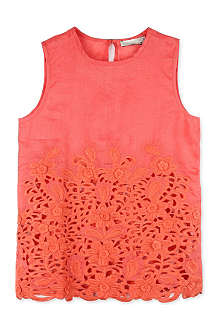STELLA MCCARTNEY Thelma Broderie Anglaise top 6-14 years