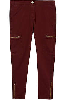STELLA MCCARTNEY Maisy zip trousers 2-14 years