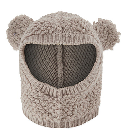 STELLA MCCARTNEY Ozzy Rabbit wool hat S-L (Snow