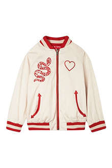 STELLA MCCARTNEY Willow reversible varsity jacket 4-14 years
