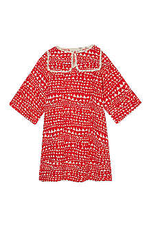 STELLA MCCARTNEY Ingrid heart print dress 2-14 years