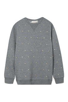 STELLA MCCARTNEY Judy studs sweatshirt 2-14 years