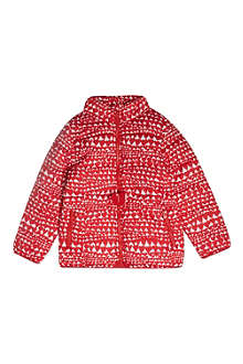 STELLA MCCARTNEY Heart-print puffer jacket 2-12 years