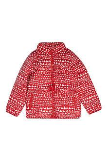 STELLA MCCARTNEY Heart-print puffer jacket 2-12 years