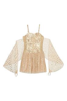 STELLA MCCARTNEY Bonny gold dress 2-14 years