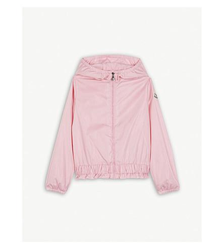MONCLER Erina peplum coat 4-14 years (Bubble+pink