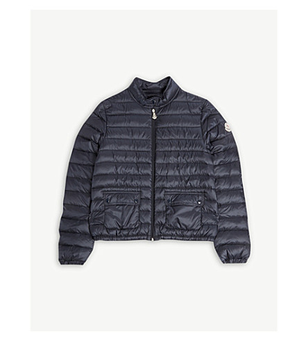 MONCLER Lans quilted jacket 4-14 years (Navy