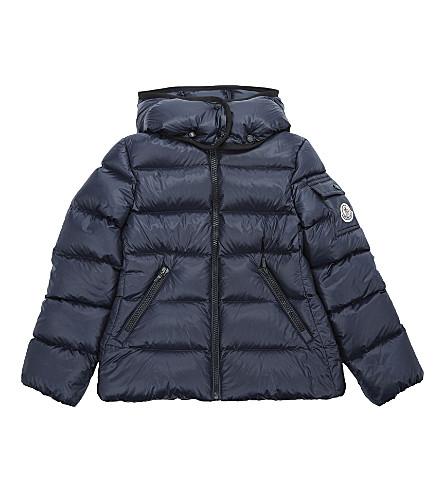 MONCLER Berre puffa jacket 4-14 years (Navy