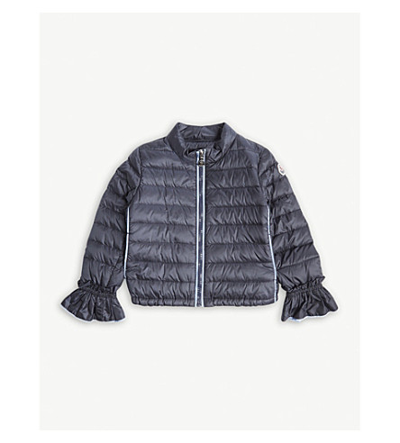 MONCLER Nadege padded jacket 4-14 years (Navy