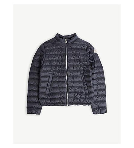 ec3ade8bb5bc ... MONCLER Padded zip jacket 4-14 years (Navy. PreviousNext