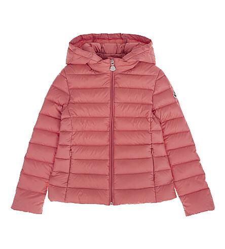 MONCLER Iraida classic coat 4-14 years (417+pink