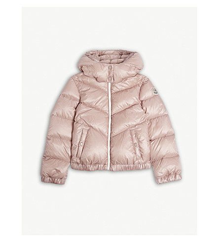 MONCLER Adelie puffer jacket 4-14 years (Pink