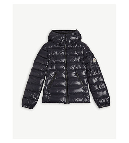 MONCLER Padded coat 4-14 years (Navy