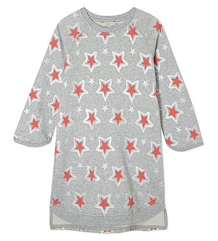 STELLA MCCARTNEY Irina cotton jersey jumper dress 4-14 years (Pebble