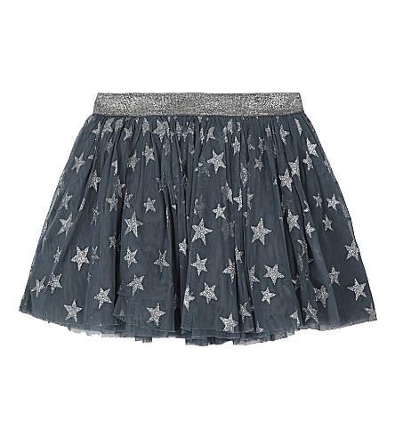 STELLA MCCARTNEY Honey stars tutu skirt 4-16 years (Stars+aop+on+petrol