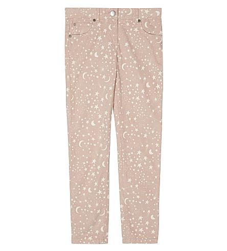 STELLA MCCARTNEY Nina star print cotton trousers 4-16 years (Cosmic+pr+on+pink