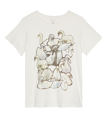 STELLA MCCARTNEY Arlow cotton T-shirt 4-16 years (Cloud