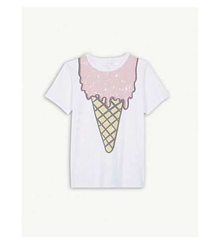 STELLA MCCARTNEY Arlow ice cream T-shirt 4-14 years (White
