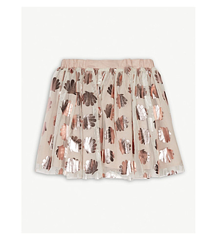 STELLA MCCARTNEY Honey shell tutu skirt 4-14 years (Cloud