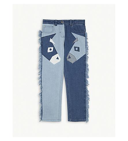 STELLA MCCARTNEY Lohan stretch denim donkey jeans 4-16 years (Denim