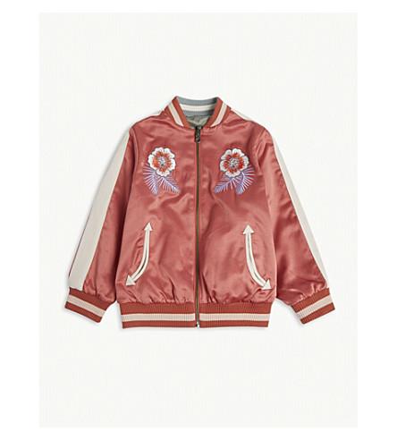 STELLA MCCARTNEY Willow reversible bomber jacket 4-16 years (Raspberry