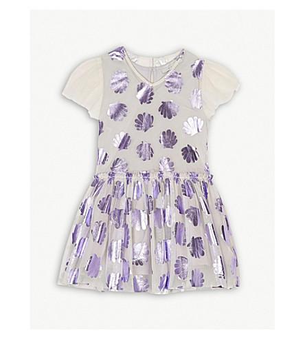 STELLA MCCARTNEY Bellie lace seashell dress 4-16 years (Lavender
