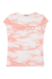 KENZO Cloud print t-shirt 2-16 years