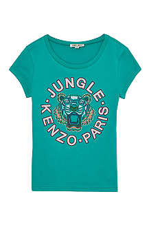 KENZO Jungle tiger t-shirt 6-16 years