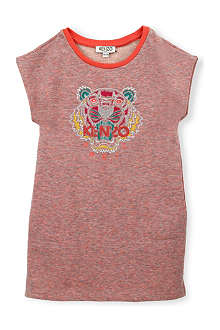 KENZO Tiger embroidered dress 2-16 years