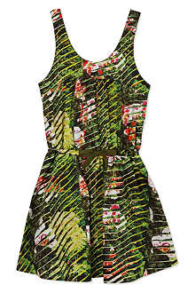 KENZO Floral print dress 2-16 years