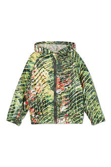 KENZO Floral hooded raincoat 2-16 years