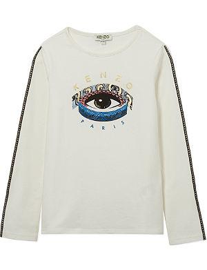 KENZO Printed eye t-shirt 4-16 years