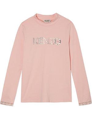 KENZO Core logo t-shirt 4-16 years