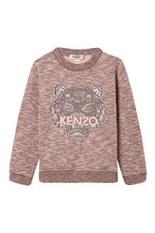 KENZO Marled tiger jumper 4-16 years