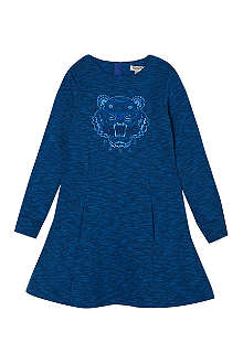 KENZO Kenzo tiger marl sweat dress