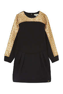 KENZO Metallic sweater dress 4-16 years