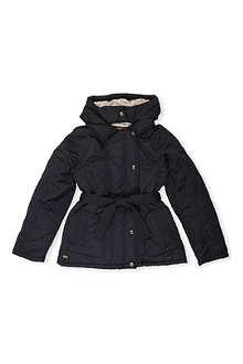 KENZO Eye belted jacket 4-16 years