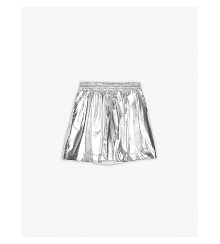 KENZO Metallic skirt 4-16 years (Silver