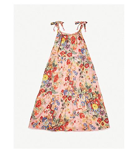 ZIMMERMANN Kali floral-print cotton-voile dress (Floral
