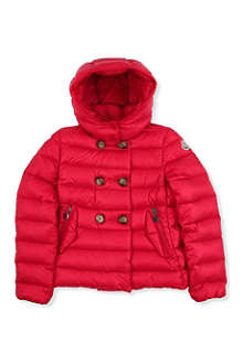 MONCLER Double-breasted padded down coat 8-14 years