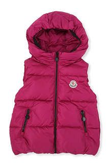 MONCLER Moncler hooded gilet 8-14 years